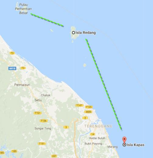 Pulau Kapas, isla mochilera en malasia