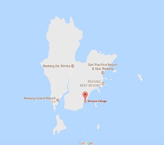 donde alojarte en pulau redang