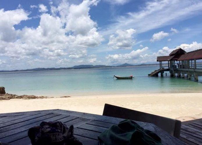 donde dormir en pulau kapas