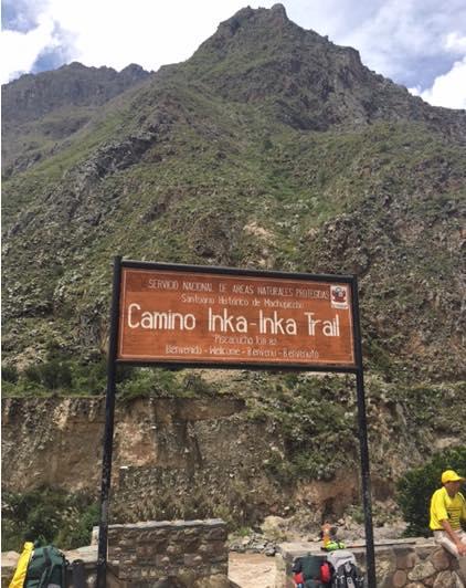 km 82 camino Inca Machu Picchu