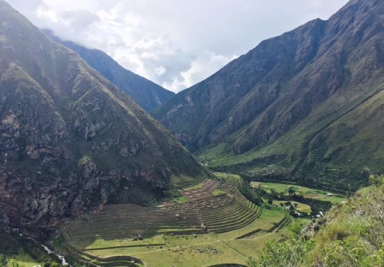recorrido camino inca peru