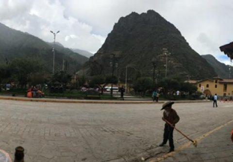 ollantaytambo ruinas en valle sagrado