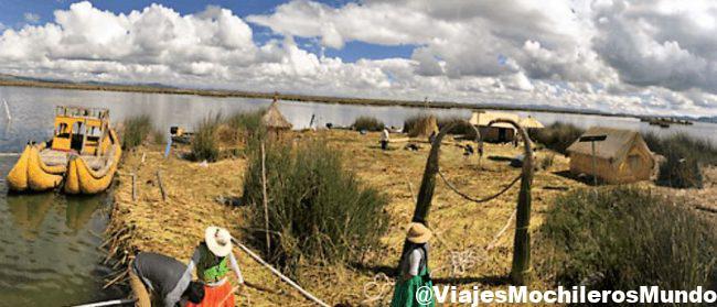 que ver en el lago titicaca peru
