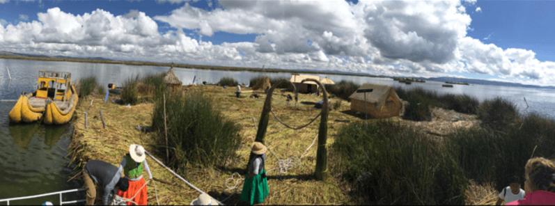 uros flotantes lago titicaca