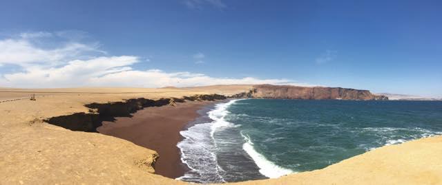 playa negra reserva nacional paracas