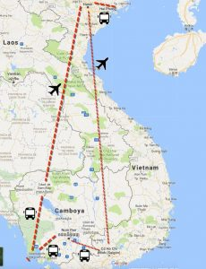 ruta camboya vietnam 14 días