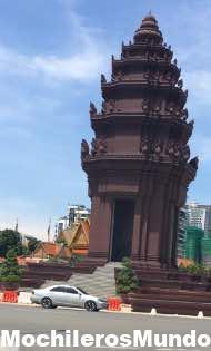 monumento independencia nom pen