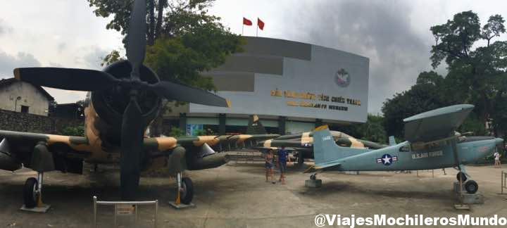 museo de la guerra de vietnam en ho chi minh