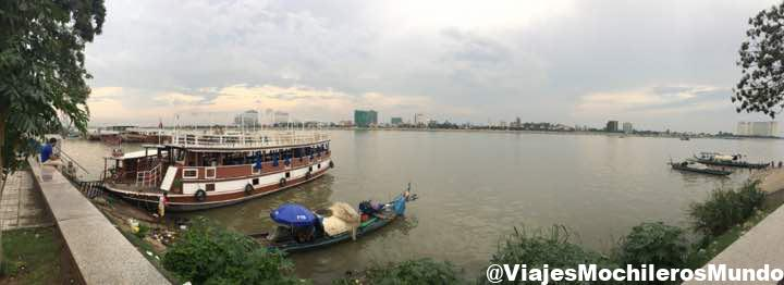 orilla del rio mekong nom pen