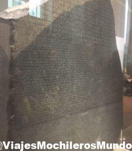 piedra roseta british museo londres