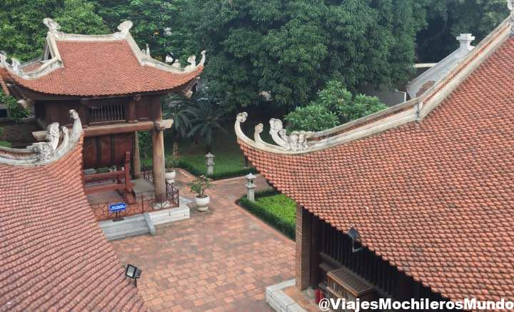 templo de la literatura vietnam