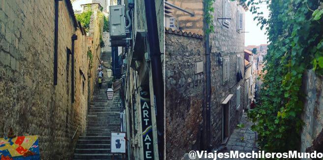 calles centro historico dubrovnik