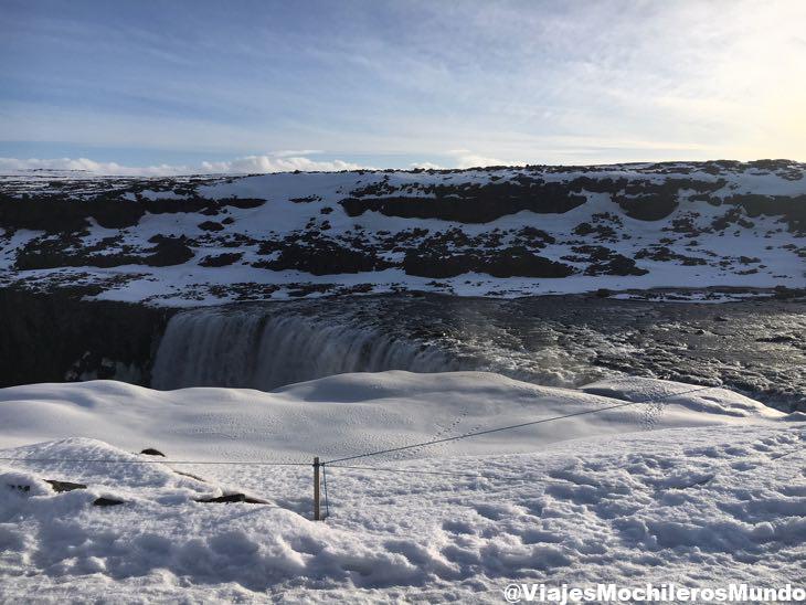 cascadas de Detifoss y Selfoss islandia