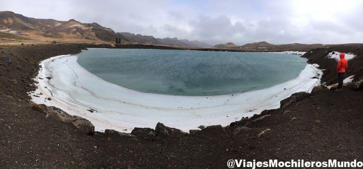 crater de Grænavat islandia