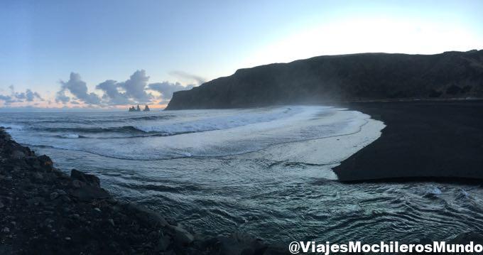 playa de vik islandia