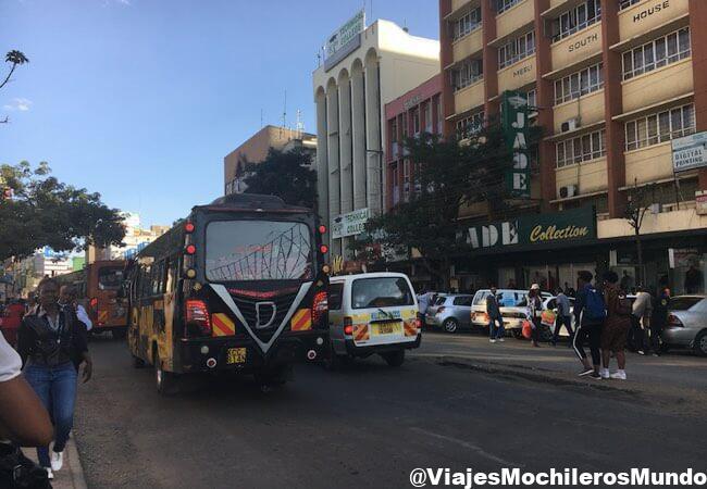 como moverse por nairobi