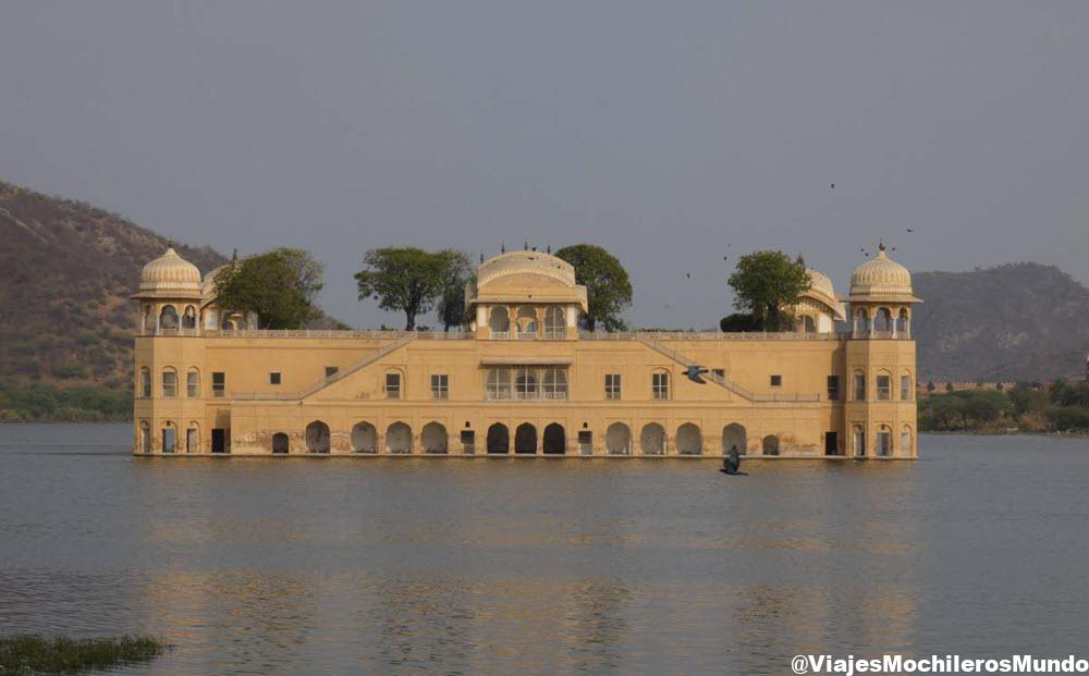 jal mahal, palacio del agua