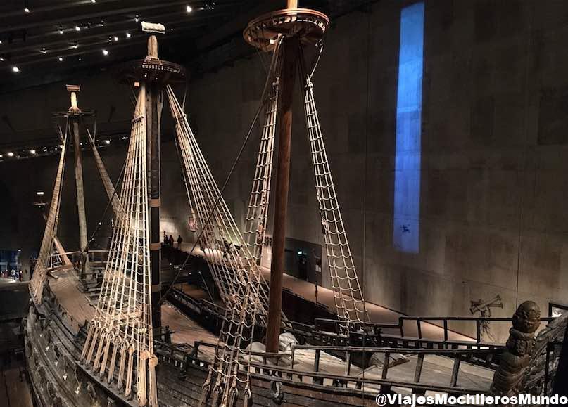 museo vasa estocolmo barco hundido