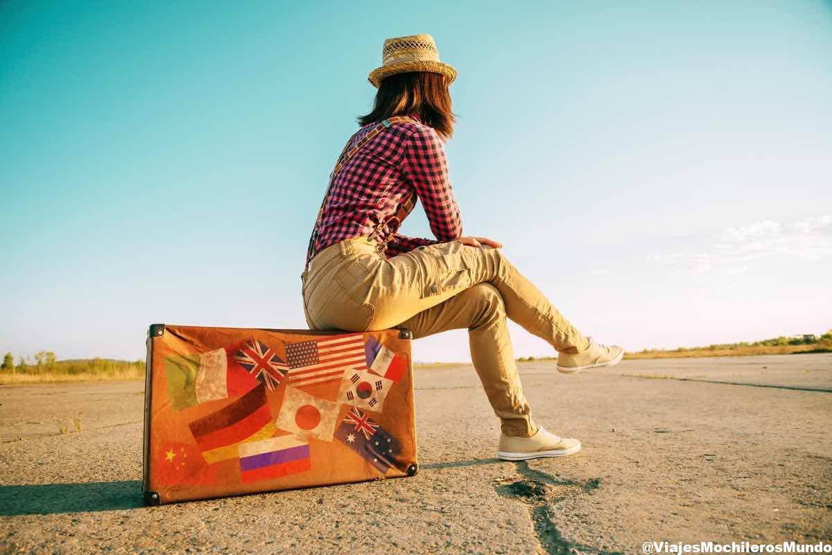 preparar mochila viaje por el mundo