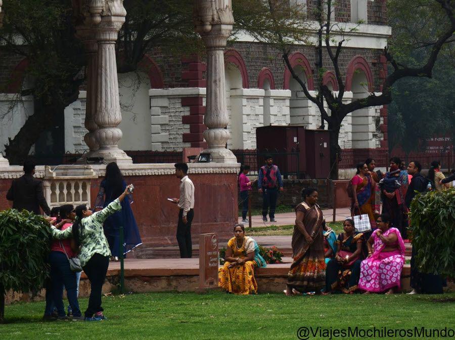 visitar fuerte rojo new delhi