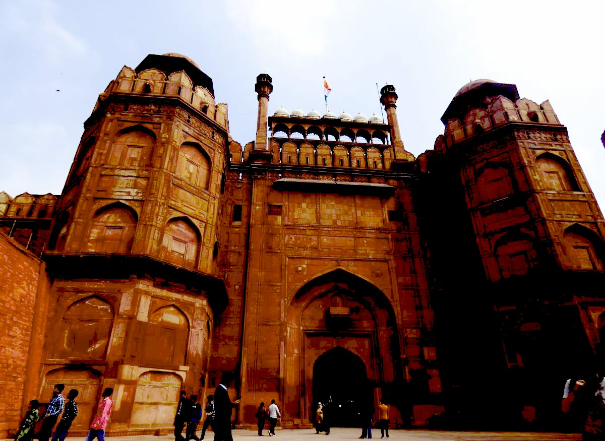 fuerte rojo de delhi puerta lahore