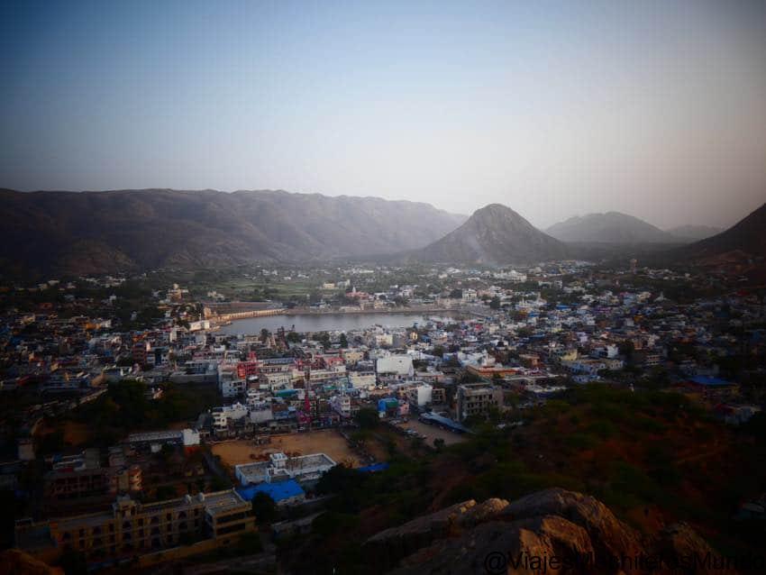 vista panoramica desde puskhar